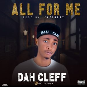 [Music] DAH CLEFF ALL FOR ME